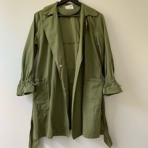 Zara Girls Trench Coat Size 11-12